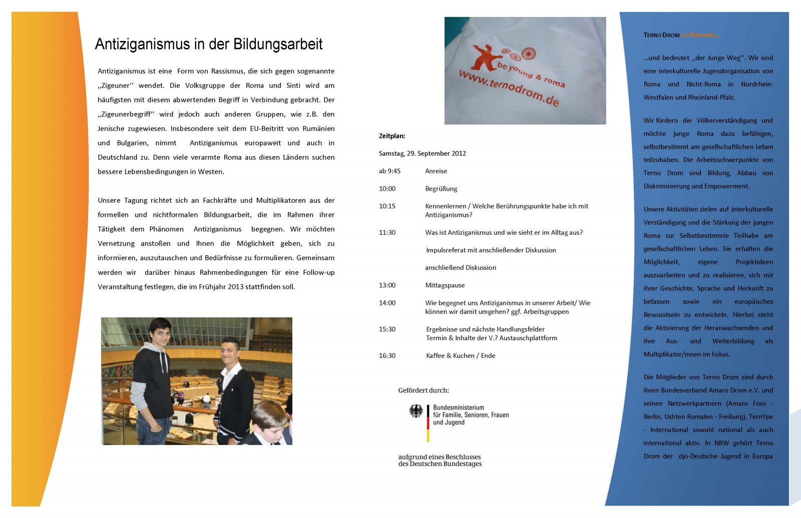 Antiziganismus in der Bildungsarbeit, 29. September in Köln   www ...